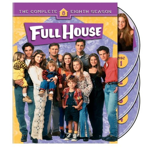 Download The Tweinc Season: FULL HOUSE*KOMPLETTE STAFFEL 8*OLSEN TWINS*4 DVD*NEU/OV
