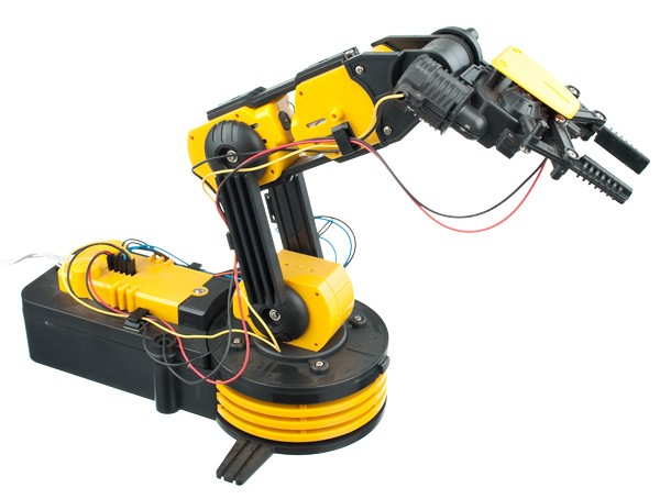roboterarm bausatz roboter arm mit usb anschluss fernbedienung neu ov. Black Bedroom Furniture Sets. Home Design Ideas